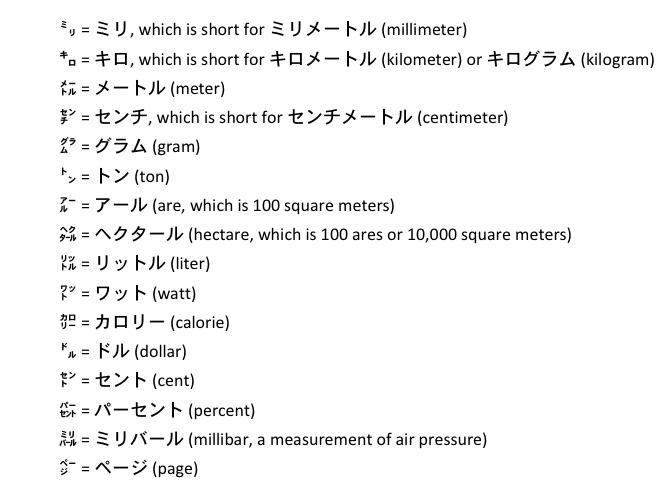Kanji with Permanent Parentheses, Plus Katakana Stacks | Joy